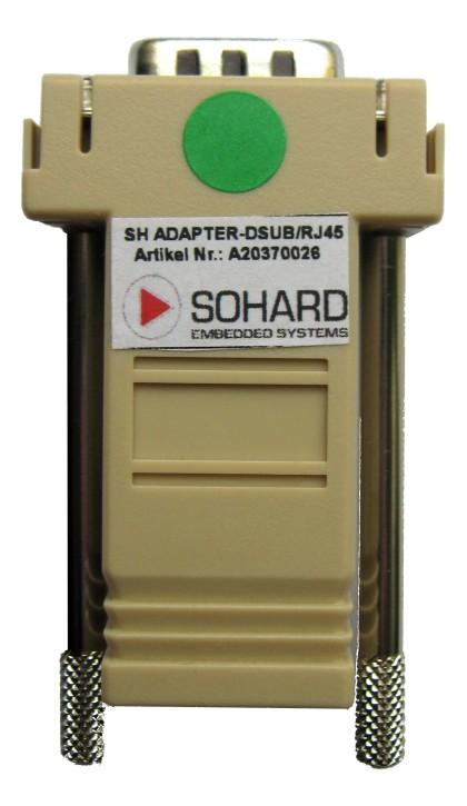 SH ADAPTER-DSUB/RJ45